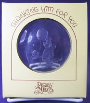 Precious Moments Acrylic HOLIDAY ORNAMENT Thanking Him for You E7093 198... - $10.93