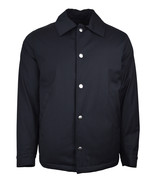 Brooks Brothers Mens Navy Blue Snap Button Coaches Jacket Sz Medium M 73... - $303.61