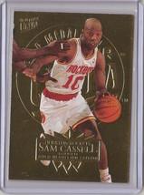 1995-96 Fleer Ultra Gold Medallion Sam Cassell #65 Basketball Card - $3.75