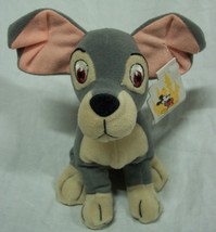 "Walt Disney World Lady And The Tramp The Dog 6"" Bean Bag Stuffed Animal New - $16.34"