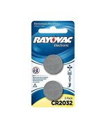 2 x Rayovac CR2032, 3V Lithium Coin Cell Batteries - $1.98
