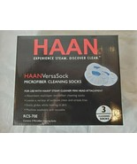 HAAN VERSA MICROFIBER CLEANING SOCKS FOR HANDHELD HAAN STEAM CLEANERS PA... - $9.79