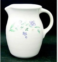 Vintage Pfaltzgraff Stoneware April 28 oz. Pitcher Milk Jug Gently Used Rare - $45.99