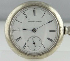 MENS VINTAGE ELGIN NATIONAL WATCH CO LEVER SET POCKET WATCH 59mm - €146,65 EUR