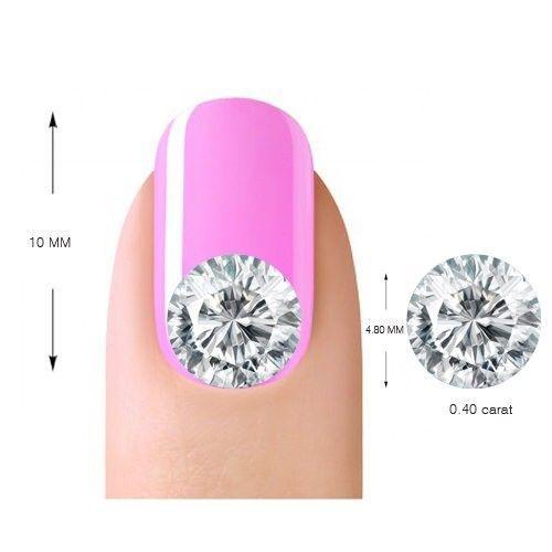 14K Rose Gold 1.05 Carat Round Cut Diamond Engagement Ring