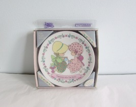 Precious Moments Enesco Ceramic Collector's Plate Friendship Hits the Spot 1994 - $5.00