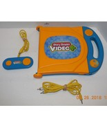 Electronic Story Reader Video Plus Game System With AV Cables & Controller - $32.73