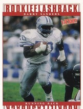 1999 Upper Deck Victory Barry Sanders Detroit Lions #367 Football Card - $1.97
