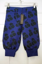 LITTLE MARC JACOBS TERRY COTTON CASUAL BLUE DOTS PANTS MADE IN FRANCE SI... - $55.00