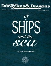 Advanced Dungeons & Dragons of Ships and the Sea (Dungeon Master Guide R... - $63.00