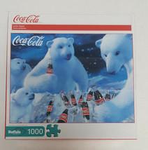 Coca-Cola POLAR BEARS Coke Jigsaw Puzzle 1000 Pieces NEW Buffalo Games - $15.99