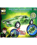 Ben 10 Alien Force Vehicle - Kevin's Cruiser (Clear Edition) - $139.90