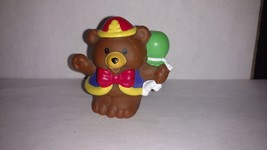 Fisher Price Little People Bear Circus Amusement Park Parade Zoo Train - $5.00