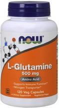 NOW Supplements, L-Glutamine 500 mg, Amino Acid, 120 Capsules - $26.64
