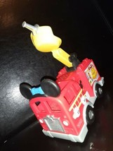 Disney Mickey Mouse Clubhouse Fire Truck Engine with Sounds~ WORKS~ 2011... - $9.89
