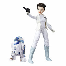 Leia and R2D2 Doll Set Star Wars Forces of Destiny Adventure Figure Frie... - $14.36