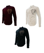 Cowboy Shirt Long Sleeve_Camisa Vaquera Western Wear With Embroidered De... - €22,85 EUR