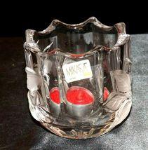 Milkasa Festive Poinsettia Votive Candle Holder AA19-1608 Vintage image 4