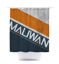 Borderlands Maliwan Shower Curtain - $29.99+
