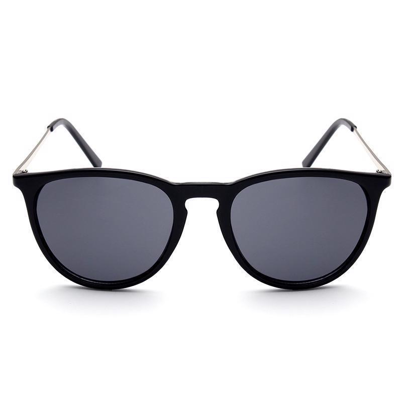 d7a391187d0 ... Sun Glasses Women Men Retro Round Eyeglasses Metal Frame Leg Spectacles  Summer ...