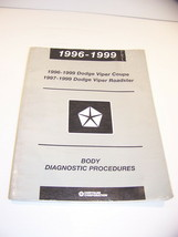 1996 - 1999 Dodge Viper Coupe 97 - 99 Roadster Body Diagnostic Procedures Manual - $22.49
