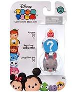 """Disney Tsum Tsum Series 4 Anger & Judy Hopps 1"""" Minifigure 3-Pack - $5.99"""