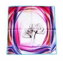 PANDA SUPERSTORE Beautiful Silk Scarf Elegant Shawl Magical Purple Scarves Ladie