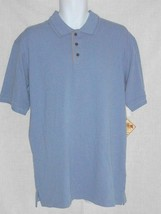 Caribbean Joe Men's Polo Golf Shirt S Blue NEW - $17.81