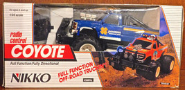 Vintage Nikko Coyote RC Remote Radio Control Pickup Truck 1/20 Scale NEW... - $80.40