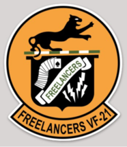 US Navy Official VF-21 Freelancers Sticker - $9.89
