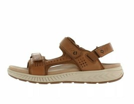 Earth Leather Adjustable Sport Sandals Size 9.5 Brown Leather Mira Azore... - €53,62 EUR