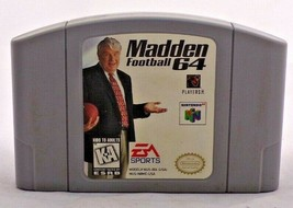Madden Football 64 Blockbuster (Nintendo 64, 1997) Pat Summerall Authentic - $6.93