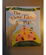 5 Minute Bedtime Tale Children's Book - New - The Three Little Pigs - $8.54