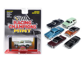 Mint Release 2 Set D Set of 6 cars 1/64 Diecast Model Cars by Racing Champions - $67.19