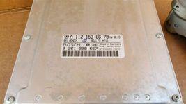 03-05 Mercedes Benz E320 C320 C32 ECU EIS Engine Computer Key Set A1121536679 image 3