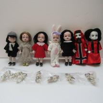 Mausoleum Set 1 Living Dead Dolls MINI LTD Edit DEBOXED MINT - $80.00