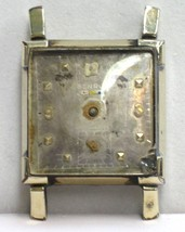 Vintage Benrus BA 4 - 17 Jewel Watch in 10K Gold Filled Case - $28.50