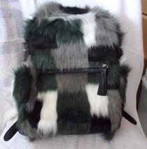 Vera Bradley New Faux Fur Leighton Backpack in ... - $120.00