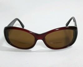 Oliver Peoples Eyeglasses Frames Dark Red plastic Phoebe 59 17 125 - $29.67