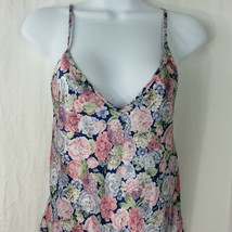 Vintage 70s Mervyns Chemise Slip Nightgown Size S Floral Made in USA - $49.45