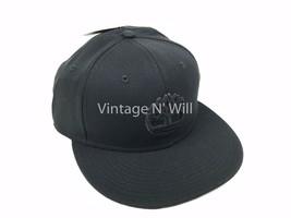 Timberland Boots Black Classic Tree Logo Baseball Flat Brim Hat Cap Snap... - $17.09