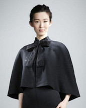 Prabal Gurung Women's Cape for Target & Neiman Marcus One Size Black Woo... - $19.00