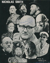 Nicholas Smith signexd photo. Are You Being Served? Mr Rumbold. Jugears. - $13.95