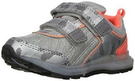 Boys Toddler CARTER'S DUB-B Gray+Orange Casual Athletic Sneakers Shoes NEW - $10.50