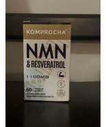 NMN + TRANS-RESVERATROL Antioxidant Anti-Aging Supplement 60 Capsules KO... - $31.00