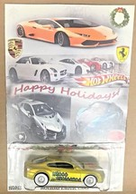 Hot Wheels Bentley Continental Holiday Real Rider Limited Hot Wheels die... - $82.24
