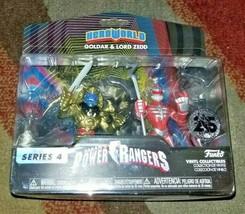 Funko Hero World Series 4 Power Rangers Goldar and Lord Zedd 25th Annive... - $18.99