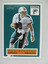 Jay Fiedler Miami Dolphins 2001 Topps Football Card 19 - $0.98