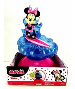 Disney Surfing Minnie Mouse Sprinkler Water Toy Shoots Spins Sprays Water New  - $19.79
