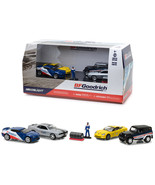 BFGoodrich Performance Tire Shop 6 pieces Set Multi Car Diorama with Fig... - $32.98